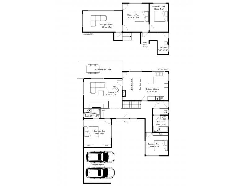 42 Bald Hill Road, Trevallyn TAS 7250 Floorplan
