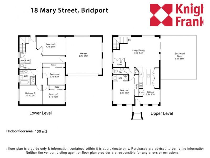18 Mary Street, Bridport TAS 7262 Floorplan