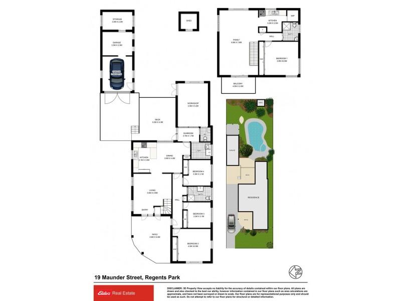 19 Maunder Street, Regents Park NSW 2143 Floorplan