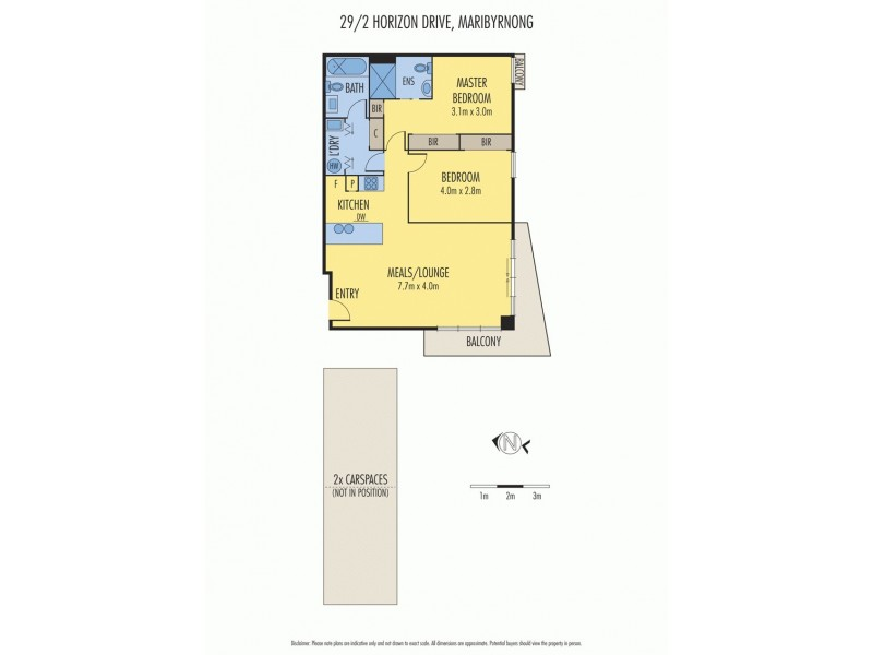 29/2 Horizon Drive, Maribyrnong VIC 3032 Floorplan