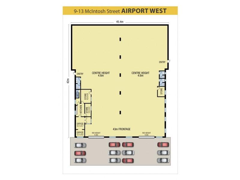 9-13 McIntosh Street, Airport West VIC 3042 Floorplan