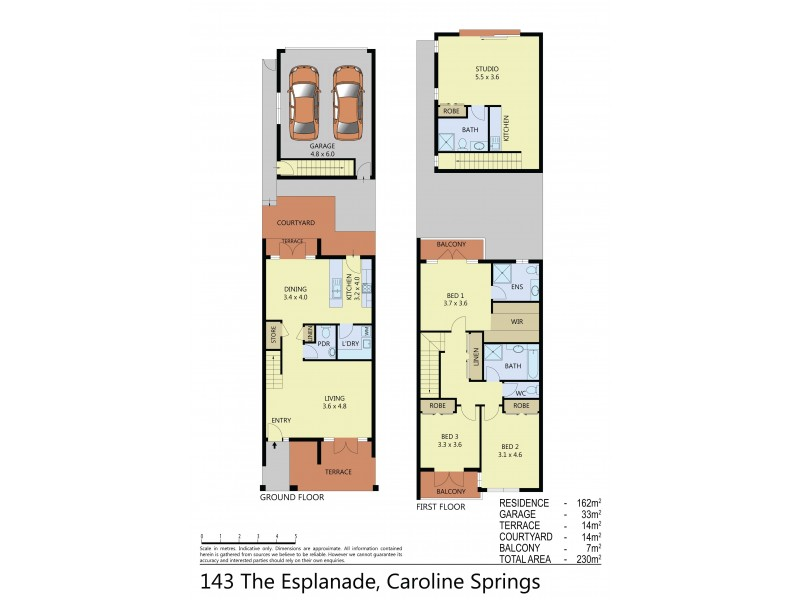 143 The Esplanade, Caroline Springs VIC 3023 Floorplan