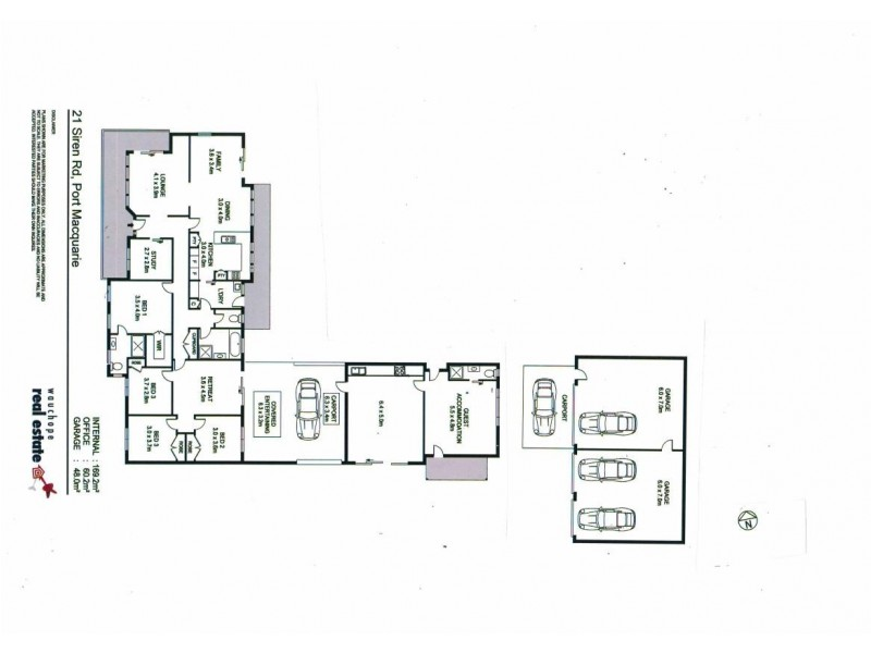 21 Siren Road, Port Macquarie NSW 2444 Floorplan