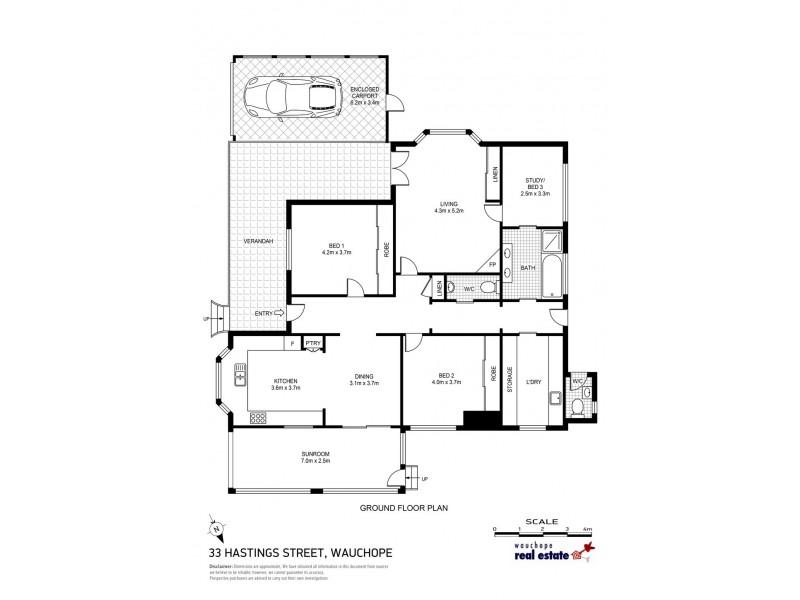 33 Hastings Street, Wauchope NSW 2446 Floorplan