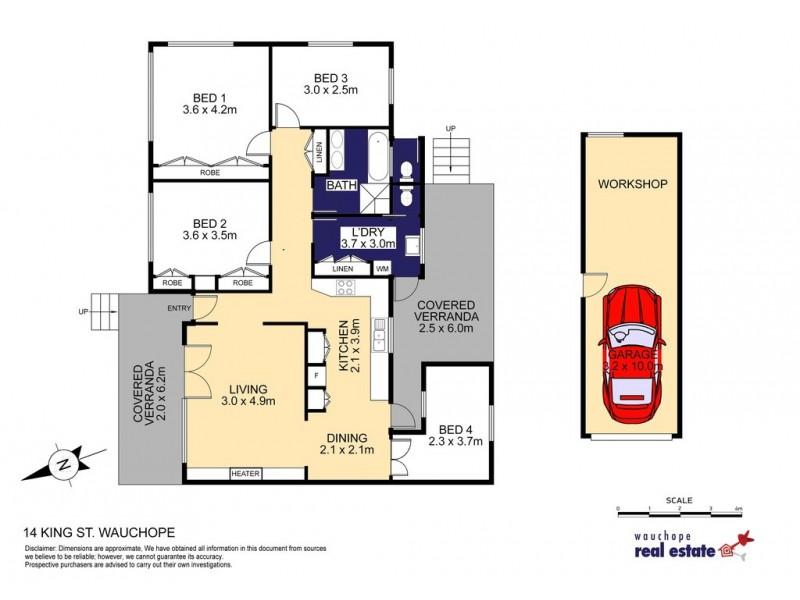 14 King Street, Wauchope NSW 2446 Floorplan