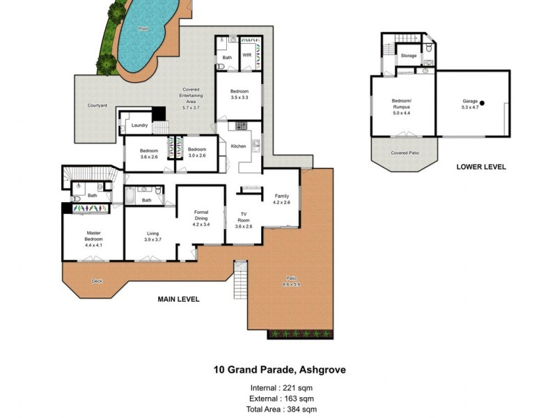 10 Grand Parade, Ashgrove QLD 4060 Floorplan