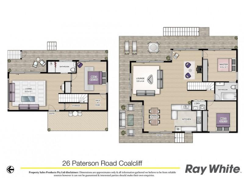 26 Paterson Road, Coalcliff NSW 2508 Floorplan