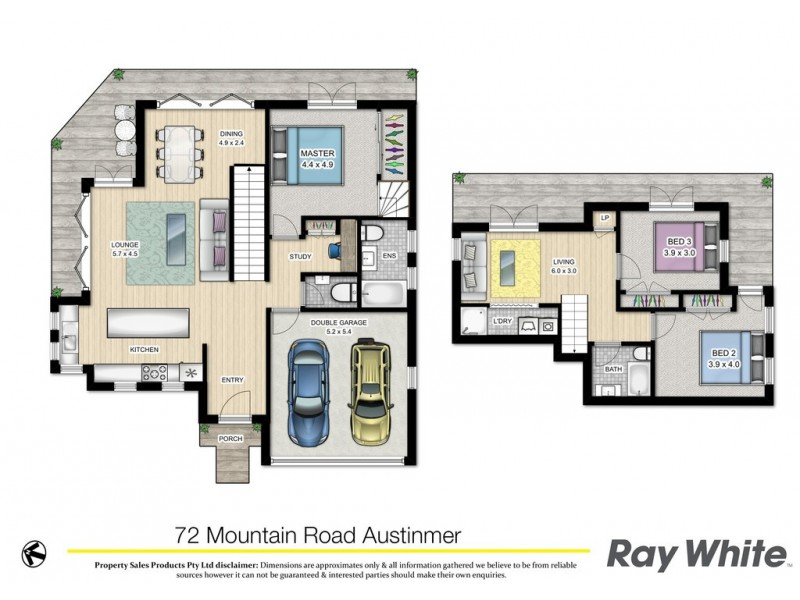 72 Mountain Road, Austinmer NSW 2515 Floorplan