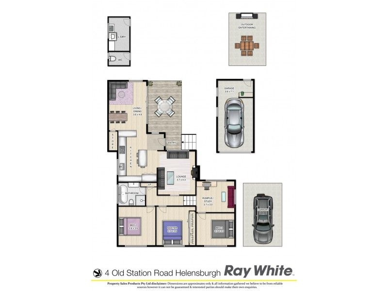 4 Old Station Road, Helensburgh NSW 2508 Floorplan