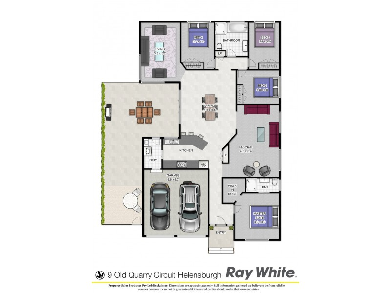 9 Old Quarry Circuit, Helensburgh NSW 2508 Floorplan