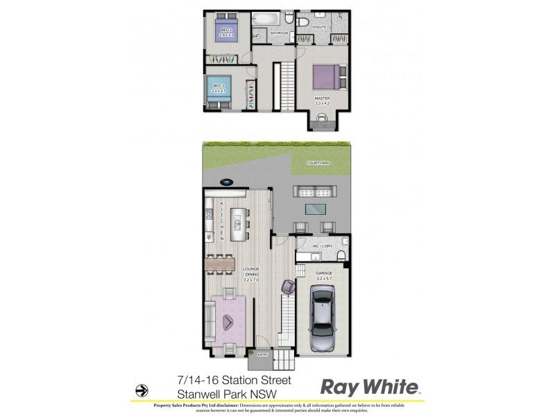 7/14 Station Street, Stanwell Park NSW 2508 Floorplan