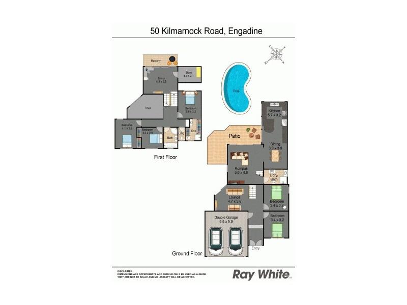 50 Kilmarnock Road, Engadine NSW 2233 Floorplan