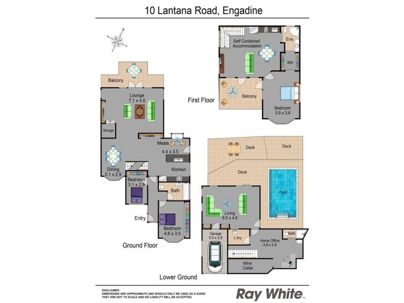 10 Lantana Road, Engadine NSW 2233 Floorplan