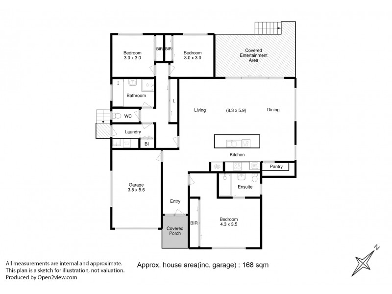 52 Eldridge Drive, Kingston TAS 7050 Floorplan