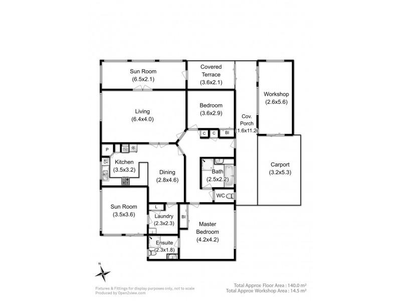 8 Fairway Drive, Kingston TAS 7050 Floorplan