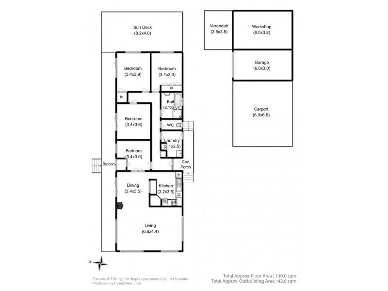 350 Sandfly Road, Margate TAS 7054 Floorplan