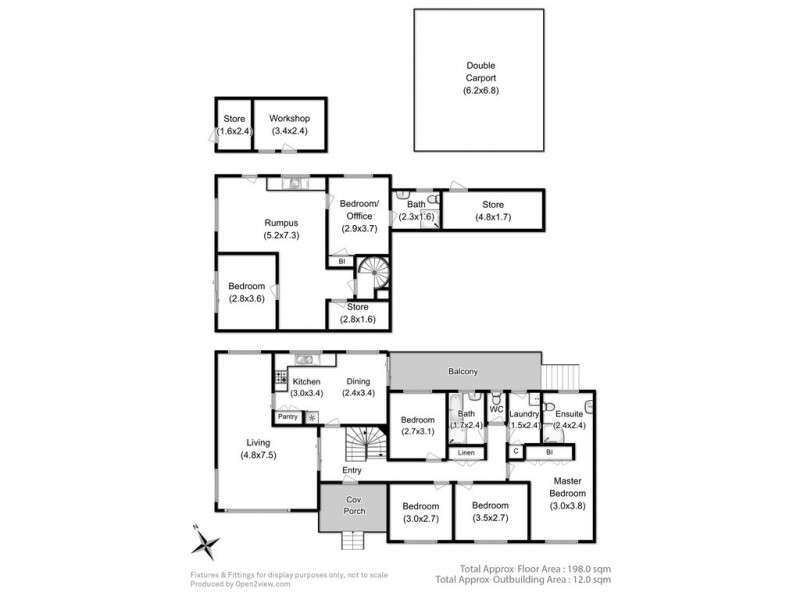 24 Cleburne Street, Kingston TAS 7050 Floorplan