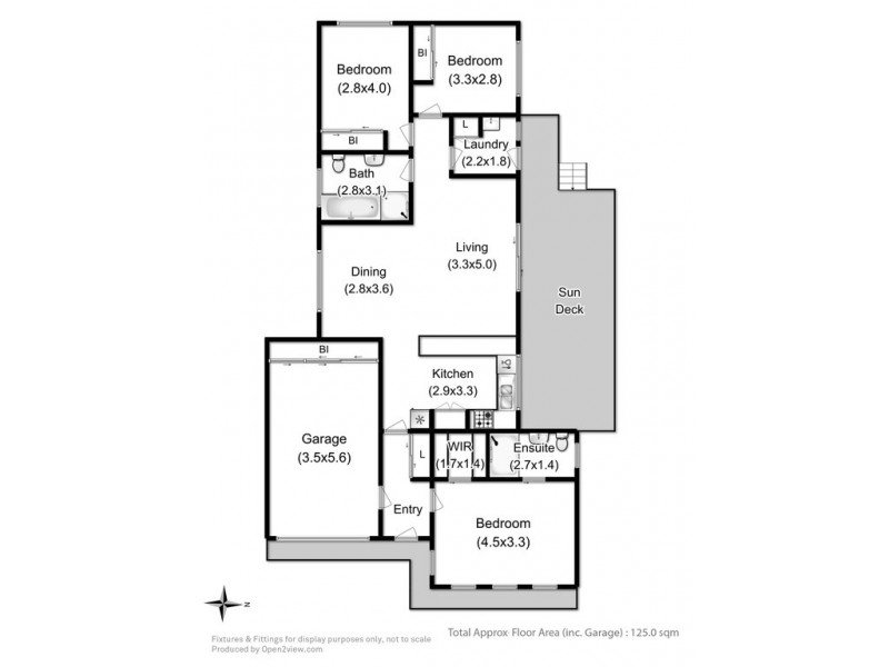 7 Keith Street, Kingston TAS 7050 Floorplan