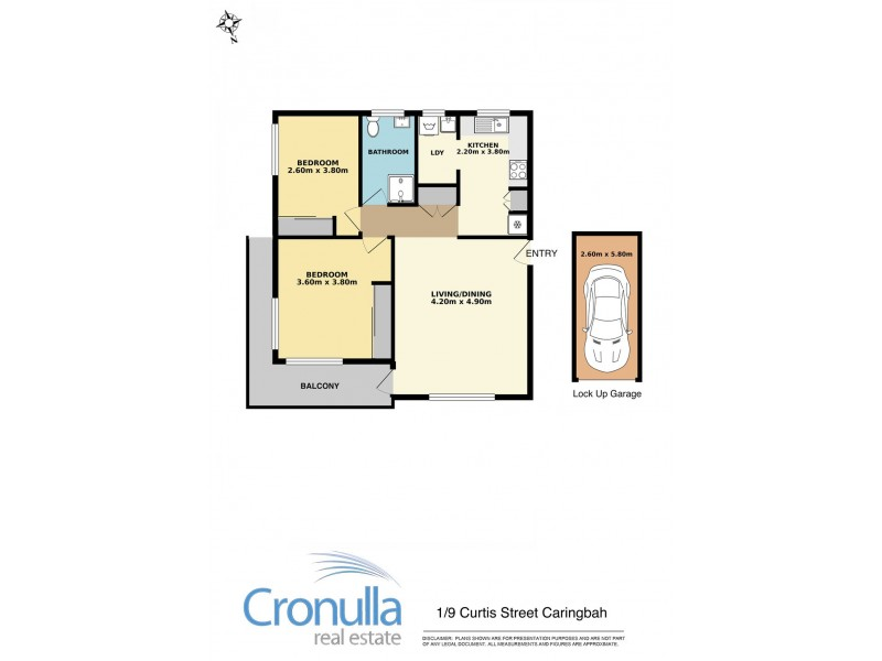 1/9 Curtis St, Caringbah NSW 2229 Floorplan