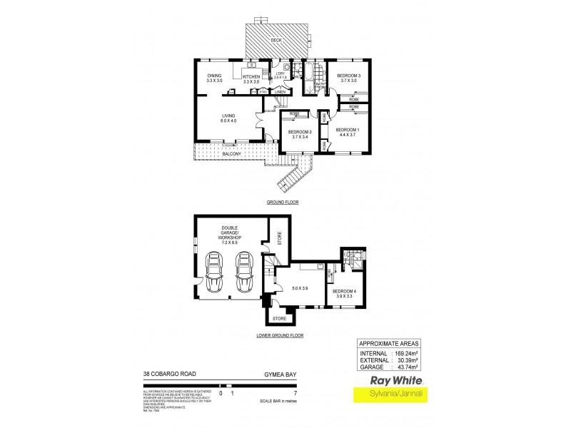 38 Cobargo Road, Gymea Bay NSW 2227 Floorplan