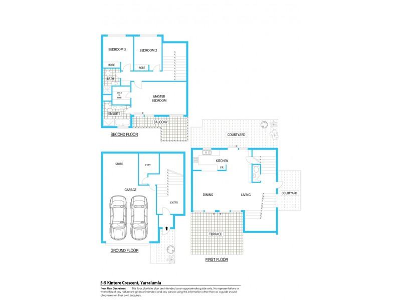 5/5 Kintore Crescent, Yarralumla ACT 2600 Floorplan