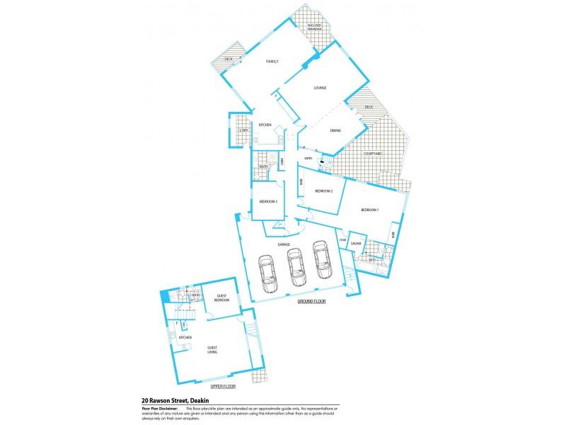 20 Rawson Street, Deakin ACT 2600 Floorplan