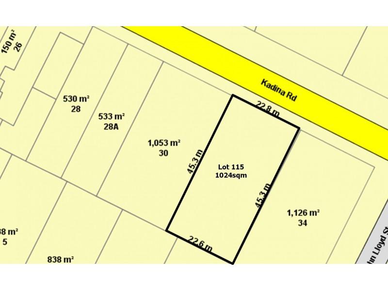 Lot 115 Kadina Road, Wallaroo SA 5556