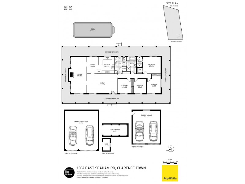 1204 East Seaham Road, Clarence Town NSW 2321 Floorplan