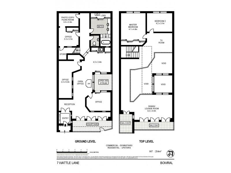 7 Wattle Lane, Bowral NSW 2576 Floorplan