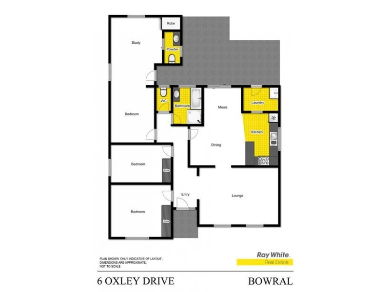 6 Oxley Drive, Bowral NSW 2576 Floorplan