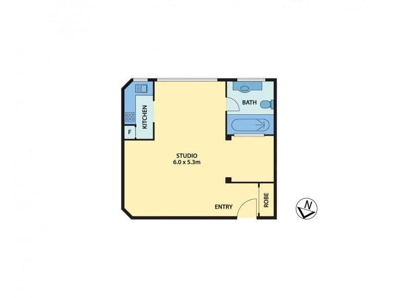 1/2 McDonald Street, Potts Point NSW 2011 Floorplan