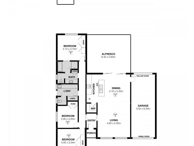 44 BAILEY ROAD, Middleton SA 5213 Floorplan