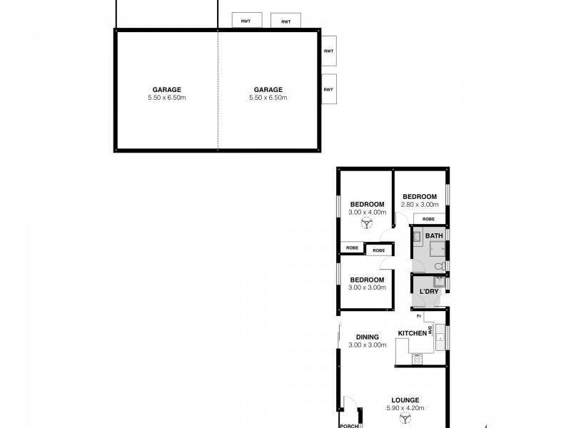 7 PHILIP COURT, Goolwa North SA 5214 Floorplan
