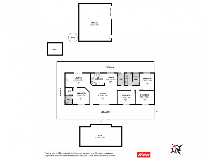 14 LIPIZZANER DRIVE, Hindmarsh Valley SA 5211 Floorplan