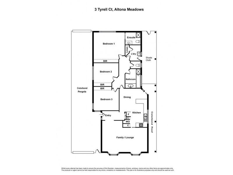 3 Tyrell Court, Altona Meadows VIC 3028