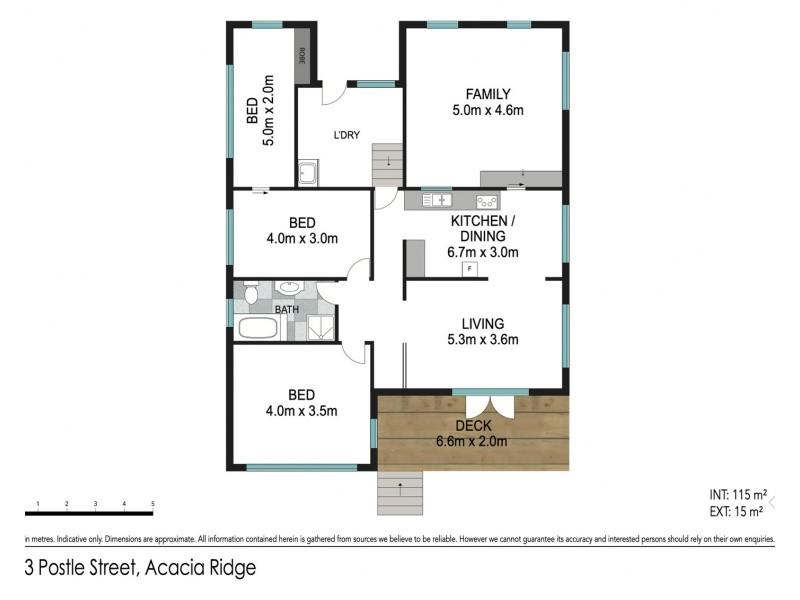 213 Postle Street, Acacia Ridge QLD 4110 Floorplan