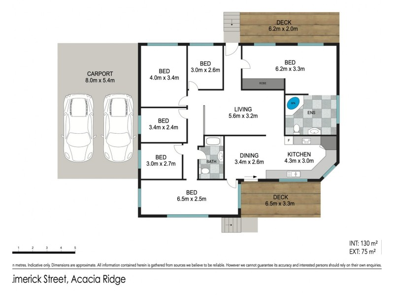 8 Limerick Street, Acacia Ridge QLD 4110 Floorplan