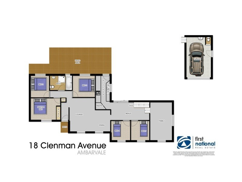 Ambarvale NSW 2560 Floorplan