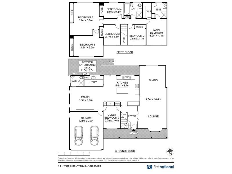 41 Twingleton Avenue, Ambarvale NSW 2560 Floorplan