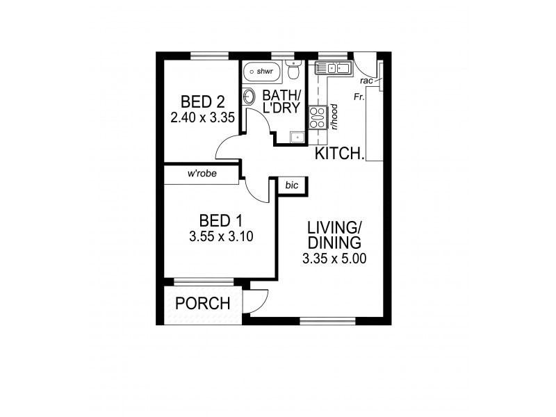 9/46 Gladstone Rd, Mile End SA 5031 Floorplan