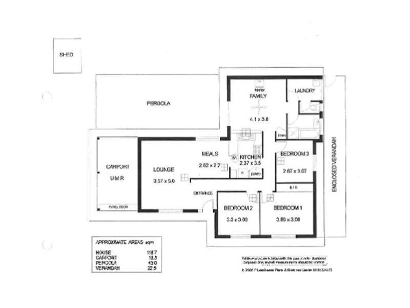 20 California Avenue, Craigmore SA 5114 Floorplan