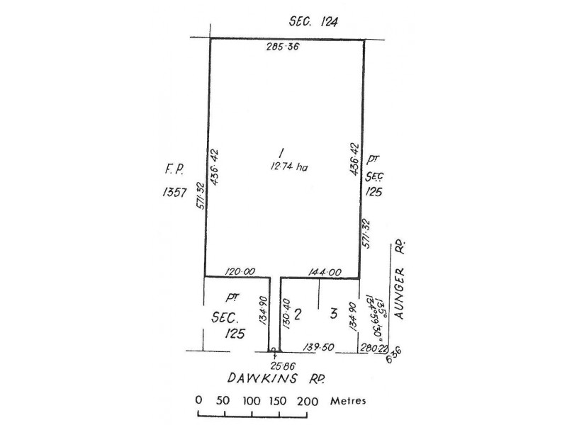 197 Dawkins Road, Lewiston SA 5501 Floorplan