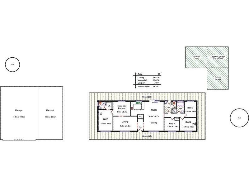 6/174 Gawler River Road, Lewiston SA 5501 Floorplan
