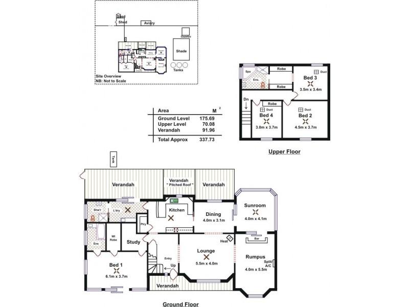 17 Fiddlewood Drive, Freeling SA 5372 Floorplan