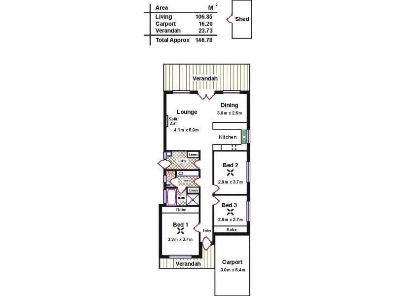 20 Candlebark Court, Craigmore SA 5114 Floorplan