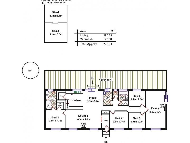 Lot 204 Pederick Road, Lewiston SA 5501 Floorplan