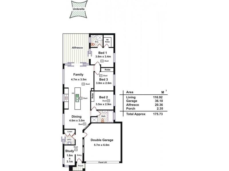 8 East Parkway, Andrews Farm SA 5114 Floorplan