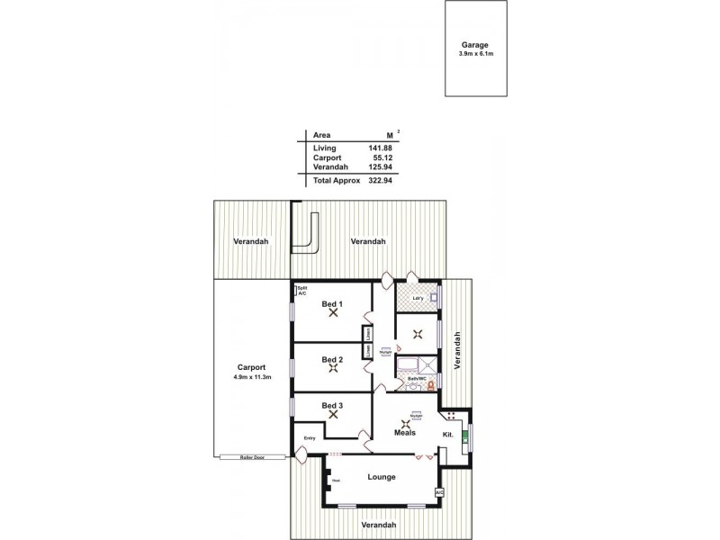 30 Mount Crawford Road, Williamstown SA 5351 Floorplan