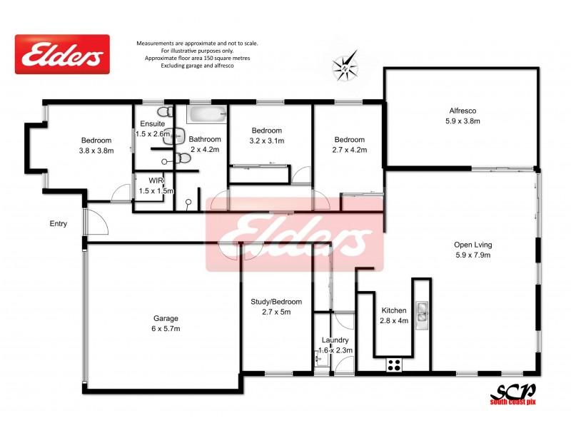 23 MARTIN PLACE, Broulee NSW 2537 Floorplan