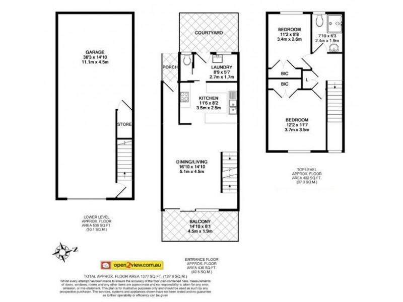 13/9 Bent Street, Batemans Bay NSW 2536 Floorplan